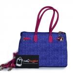 Túi xách nữ thời trang màu xanh hồng