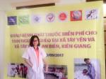 Founder hệ thống sản xuất BaLoTuiXach tham gia hỗ trợ khám chữa bệnh cho 1000 người nghèo ở An Biên, Kiên Giang