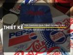 Hệ thống BaLoTuiXach - đối tác thiết kế & lên mẫu túi canvas quà tặng quảng cáo cho PepsiCo Việt Nam