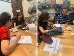 BaloTuiXach đón khách đối tác Trung Quốc tìm đối tác gia công túi xách xuất khẩu