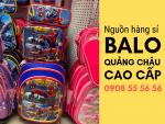 Nguồn hàng sỉ balo Quảng Châu cao cấp cho bé - balo trẻ em giá sỉ