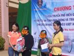 Nhà tài trợ cặp học sinh cho hoạt động xã hội vì cộng đồng tại xã Quảng Hòa, huyện Đắk Glong, tỉnh Đắk Nông