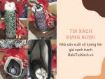 Nhà sản xuất túi xách đựng rượu hàng xuất khẩu đi Mỹ - BaloTuiXach