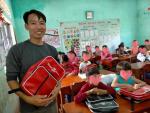 Sản xuất balo học sinh cho tổ chức thiện nguyện, từ thiện, hiệp hội học sinh, phụ huynh các trường mầm non, tiểu học quốc tế