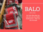 May balo đồng phục học sinh mẫu giáo cho EIJIKO Kindergarten - Mầm Non Anh Nhi Hạnh