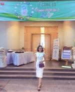 Nữ CEO Võ Thị Thu Sương của BaloTuiXach - thành viên Câu lạc bộ doanh nhân tham gia tổ chức chương trình Olympic 2030