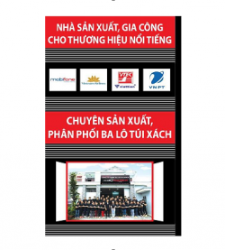 Hệ thống sản xuất gia công BaloTuiXach.vn đáp ứng nhu cầu khắt khe nhất của khách hàng