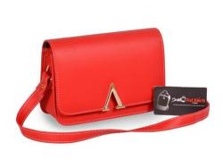 Cung cấp sỉ balo túi xách - Túi xách đeo chéo màu đỏ
