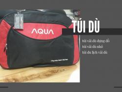 Công ty sản xuất túi du lịch vải dù nhỏ đựng đồ - đặt may túi du lịch vải bố