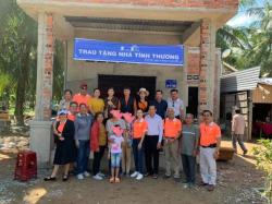 Xây ngôi nhà mơ ước: B&A Việt Nam trích quỹ vì cộng đồng - Nhà tình thương cho vợ chồng khó khăn tại Mỏ Cày Nam, tỉnh Bến Tre