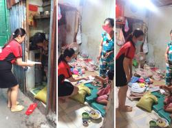 BaloTuiXach hạnh phúc khi được giúp đỡ hộ khó khăn trong phường 2, quận 11, TPHCM