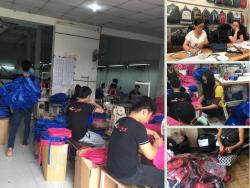 Balo túi xách giới thiệu xưởng sản xuất ba lô, xưởng may balo giá rẻ