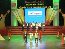 Doanh nhân Võ Thị Thu Sương đăng quang TOP 10 Doanh Nhân Sao Vàng Đất Việt 2016