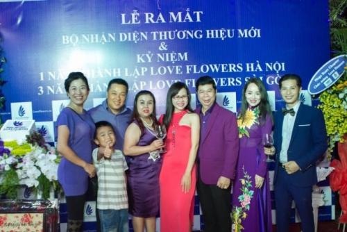 DN Thu Sương tham dự lễ ra mắt bộ nhận diện thương hiệu mới của Love Flowers 4
