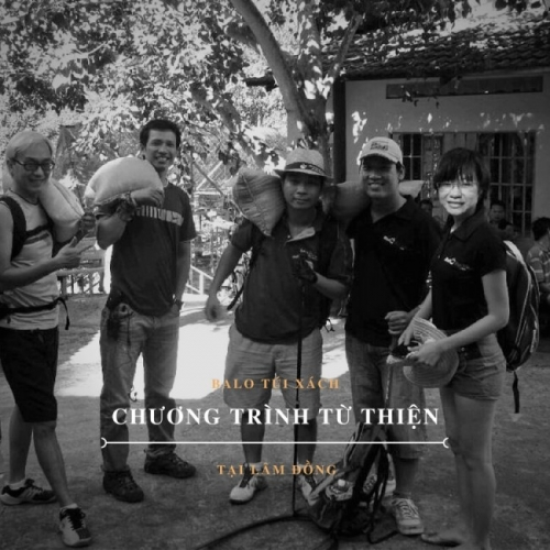 Chương trình từ thiện với sự tham gia công Cty Balo Túi Xách