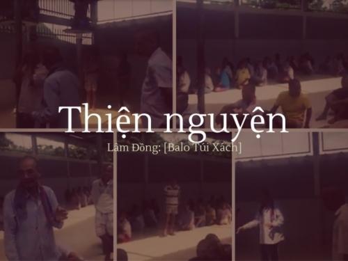 Chuyến thăm Thiện Nguyện tại Lâm Đồng