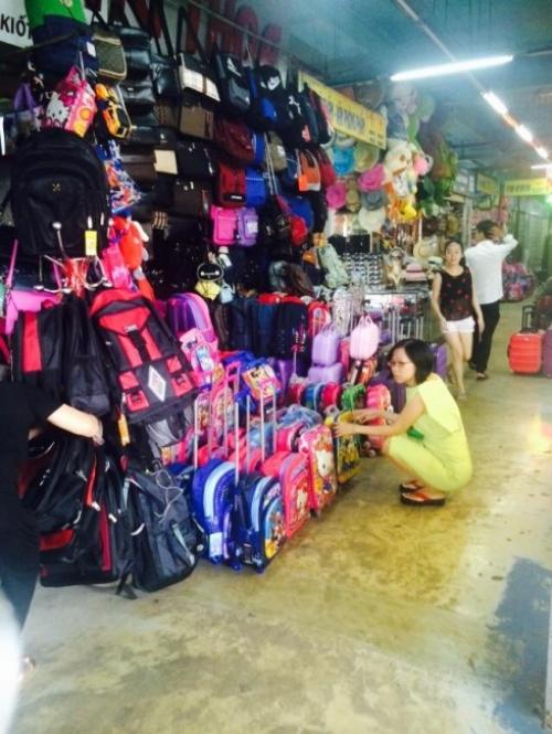 Giám đốc Thu Sương tại chuyến khảo sát thị trường Hà Nội 2