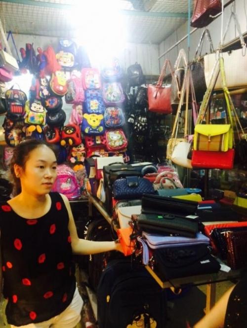 Giám đốc Thu Sương tại chuyến khảo sát thị trường Hà Nội 7