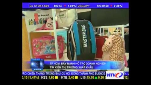 Phóng sự ngắn VITV đưa tin về Balo Túi Xách