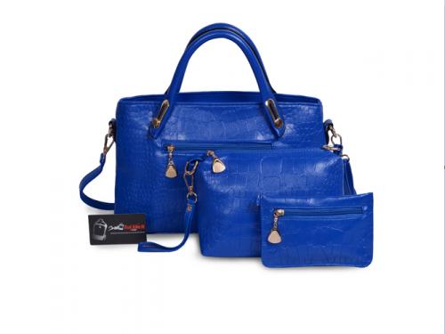 Nguồn hàng sỉ bộ 3 túi xách màu xanh Navi - Xưởng may túi xách thời trang tại TPHCM, 390, Huyền Nguyễn, Balo túi xách, 06/08/2019 16:59:18