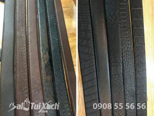 Cận cảnh ảnh chụp dây nịt thanh lý trực tiếp từ xưởng dây nịt chuyên sỉ TPHCM - Công ty Balo Túi Xách