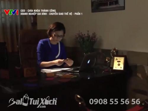 VTV1 đưa tin về Công ty Ba Lô Túi Xách - Nhà gia công của các thương hiệu nổi tiếng, 405, Huyền Nguyễn, Balo túi xách, 06/08/2019 17:09:25