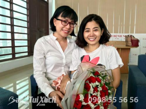 Chị Thu Sương động viên và luôn mong mọi sự tốt đẹp đến với nữ diễn viên Phương Mai