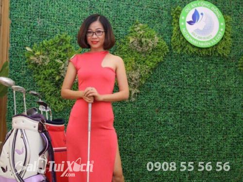 Giám đốc hệ thống sản xuất BaLoTuiXach.com trở thành Đại sứ Golf - Nữ doanh nhân và Golf, 424, Huyền Nguyễn, Balo túi xách, 19/09/2018 15:27:02