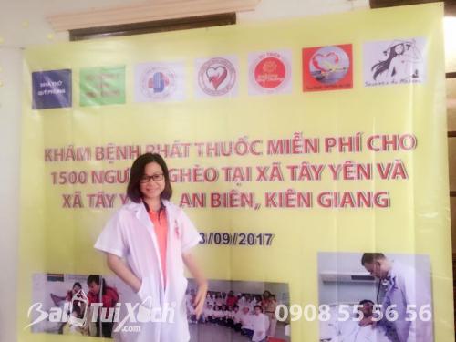 Founder hệ thống sản xuất BaLoTuiXach tham gia hỗ trợ khám chữa bệnh cho 1000 người nghèo ở An Biên, Kiên Giang, 428, Huyền Nguyễn, Balo túi xách, 24/09/2018 10:27:59