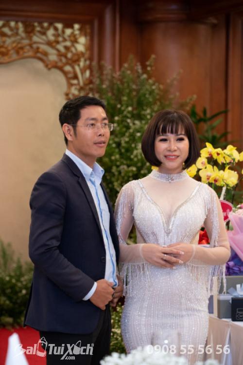 Ông Nguyễn Khắc Khang - CEO & Founder tại MasterBrand law - business consultan & Bà Võ Thị Thu Sương trong tiệc tri ân đối tác, khách hàng