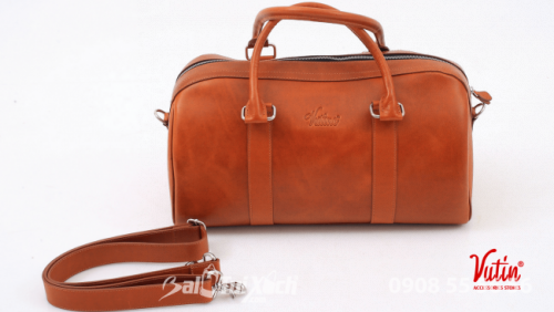 Túi du lịch trung Vutin - màu cam