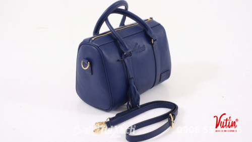 Túi du lịch trung Vutin - màu xanh
