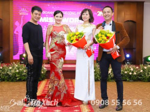 Founder Hệ thống BaloTuiXach đấu giá thành công váy dạ hội - toàn bộ số tiền được quyên góp cho thiện nguyện
