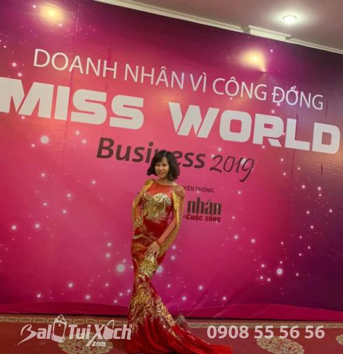 Tham dự gala chương trình Doanh nhân vì cuộc sống Miss Word Business 2019