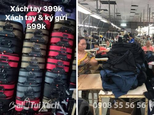 Bán buôn vali kéo từ công ty sản xuất vali kéo vải dù top 3 sản lượng TPHCM, 449, Huyền Nguyễn, Balo túi xách, 17/12/2018 18:41:37