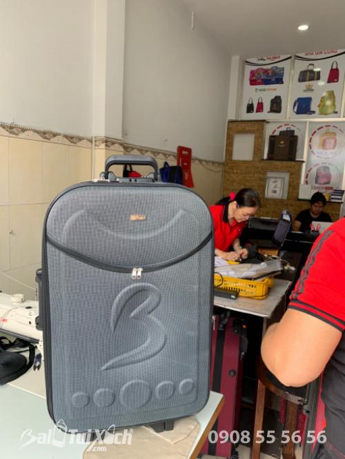 Vali giá rẻ nhất Việt Nam chỉ 399k/sản phẩm, 1 cặp chỉ 699k - Vali dù màu xám