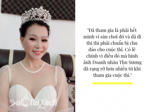 Doanh nhân Thu Sương - Hoa hậu Doanh nhân Áo dài 2019