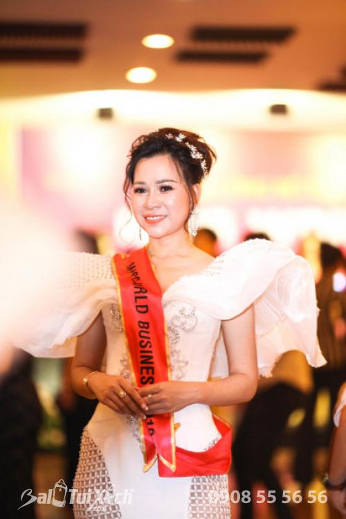 Doanh nhân Võ Thị Thu Sương: gương mặt nổi bật của cuộc thi Hoa Hậu Thế Giới Doanh Nhân 2019