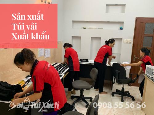 Công ty sản xuất túi vải hàng xuất khẩu đi Nhật - Nhận gia công túi xách xuất khẩu, 468, Huyền Nguyễn, Balo túi xách, 26/02/2019 12:25:39