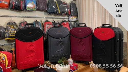 Cung cấp vali kéo vải dù số lượng lớn - nhận sản xuất in logo doanh nghiệp, thương hiệu làm quà tặng