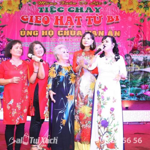 Chủ tịch BaloTuiXach Group tham gia chương trình Mừng Xuân Di Lặc - Tiệc chay Gieo Hạt Từ Bi - Ủng hộ Chùa Vạn Ân (4)