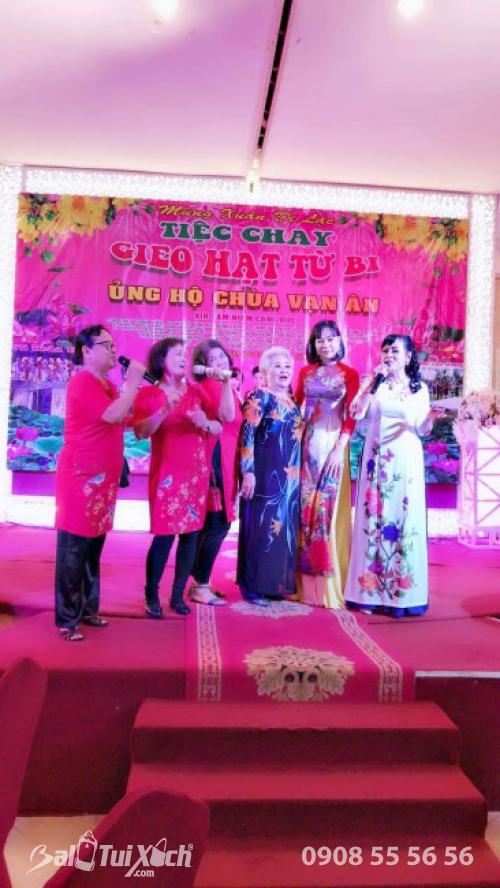 Chủ tịch BaloTuiXach Group tham gia chương trình Mừng Xuân Di Lặc - Tiệc chay Gieo Hạt Từ Bi - Ủng hộ Chùa Vạn Ân (5)