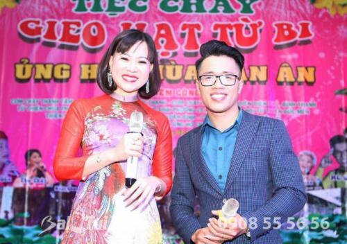 Chủ tịch BaloTuiXach Group tham gia chương trình Mừng Xuân Di Lặc - Tiệc chay Gieo Hạt Từ Bi - Ủng hộ Chùa Vạn Ân (6)
