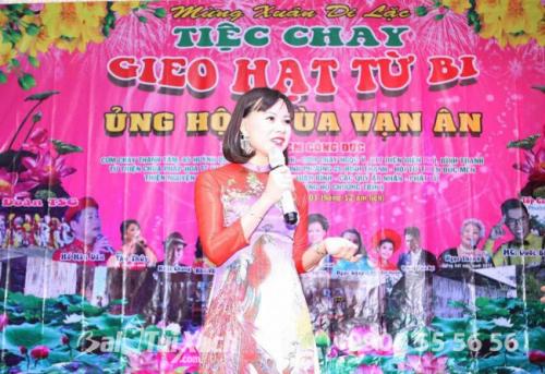 Chủ tịch BaloTuiXach Group tham gia chương trình Mừng Xuân Di Lặc - Tiệc chay Gieo Hạt Từ Bi - Ủng hộ Chùa Vạn Ân (7)