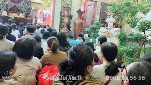 Chủ tịch BaloTuiXach tham gia ngày thiền định tại chùa (1)