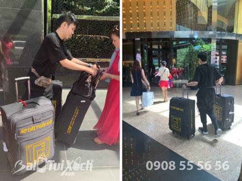 Vali tự thiết kế - dòng vali chuyên dụng BaloTuiXach đồng hành cùng nhà thiết kế áo dài Tuấn Hải trên mọi hành trình quốc tế, 477, Huyền Nguyễn, Balo túi xách, 23/10/2019 11:45:30
