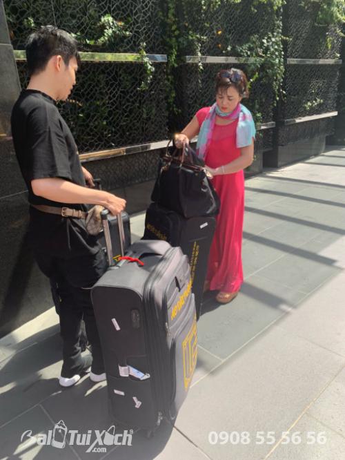 Vali tự thiết kế - dòng vali chuyên dụng BaloTuiXach đồng hành cùng nhà thiết kế áo dài Tuấn Hải trên mọi hành trình quốc tế (1)