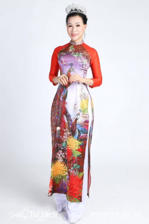 Hoa hậu Áo dài Doanh nhân Thế giới 2019 - Nữ doanh nhân Võ Thị Thu Sương (1)