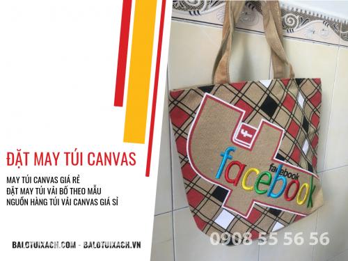 Đặt may túi canvas, xưởng may túi vải canvas giá sỉ TPHCM, 500, Huyền Nguyễn, Balo túi xách, 02/03/2019 12:48:23