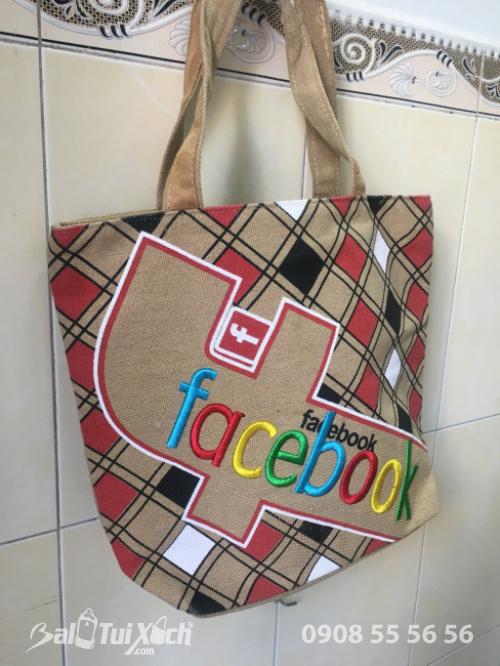 Túi canvas giá rẻ Facebook